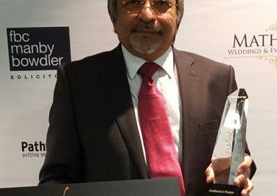 Winning the Signature Awards in 2017
